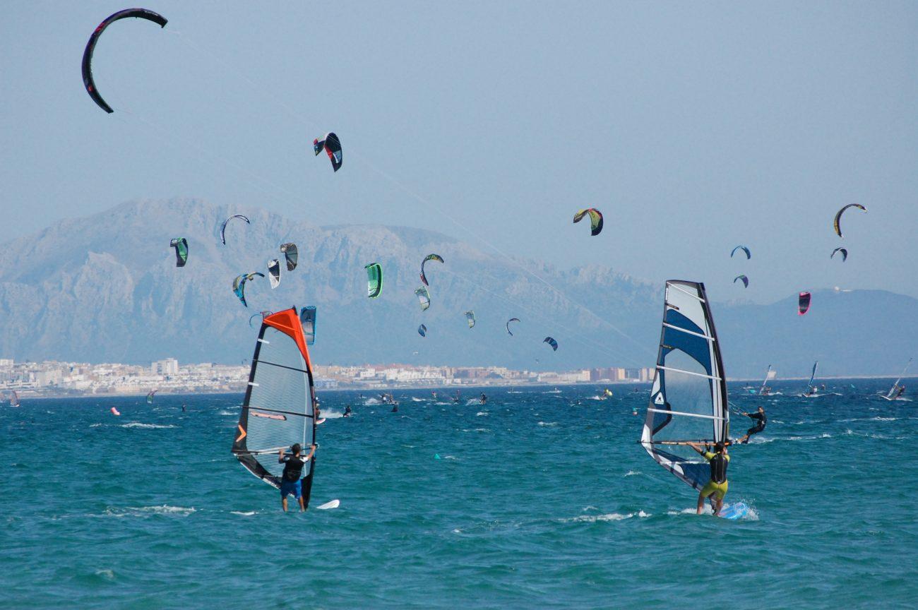 Resultado de imagen para kitesurf en caños de meca