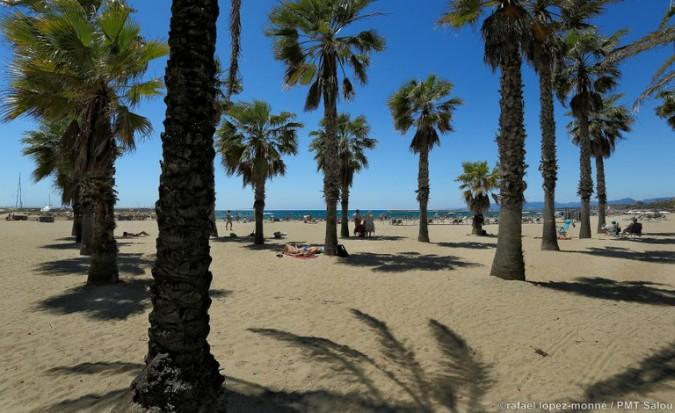 Playa en Salou