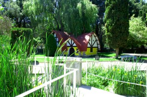 Parque Miguel Servet. Imagen de Huesca Turismo