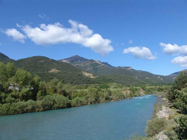 Ribera de Ara. Imagen de Guía de Servicios de los Pirineos
