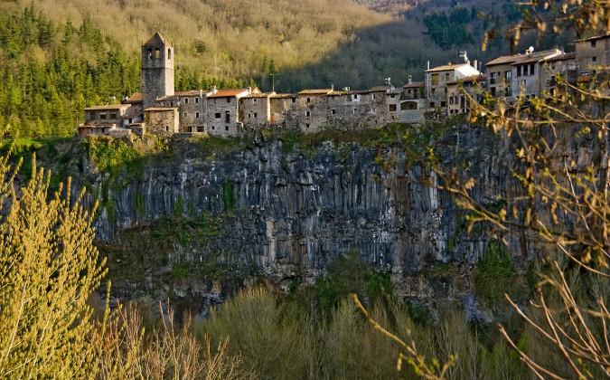 Castellfullit de la Roca. Esta imagen tiene Licencia CC en el Flickr de SBA73