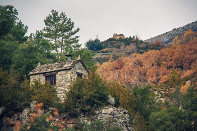 Cañón de Añísco, en Huesca. Esta imagen tiene Licencia CC en el Flickr de Juanedc