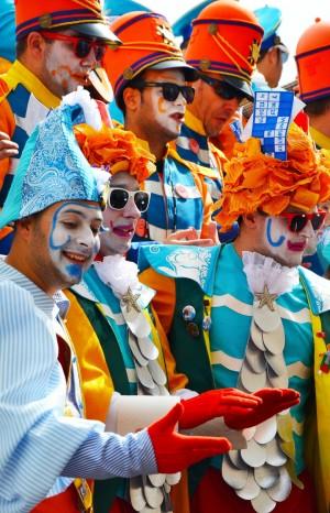 Agrupaciones actuando en las calles de Cádiz. Imagen cedida por Cádiz Turismo