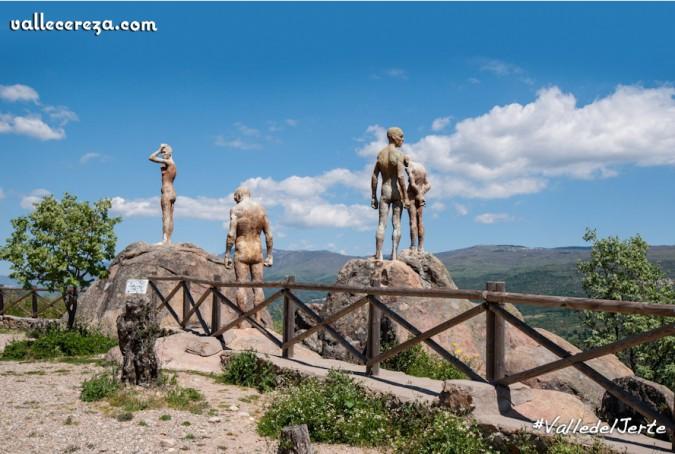 Mirador de la Memoria. Imagen de Valle de Jerte - Vallecereza