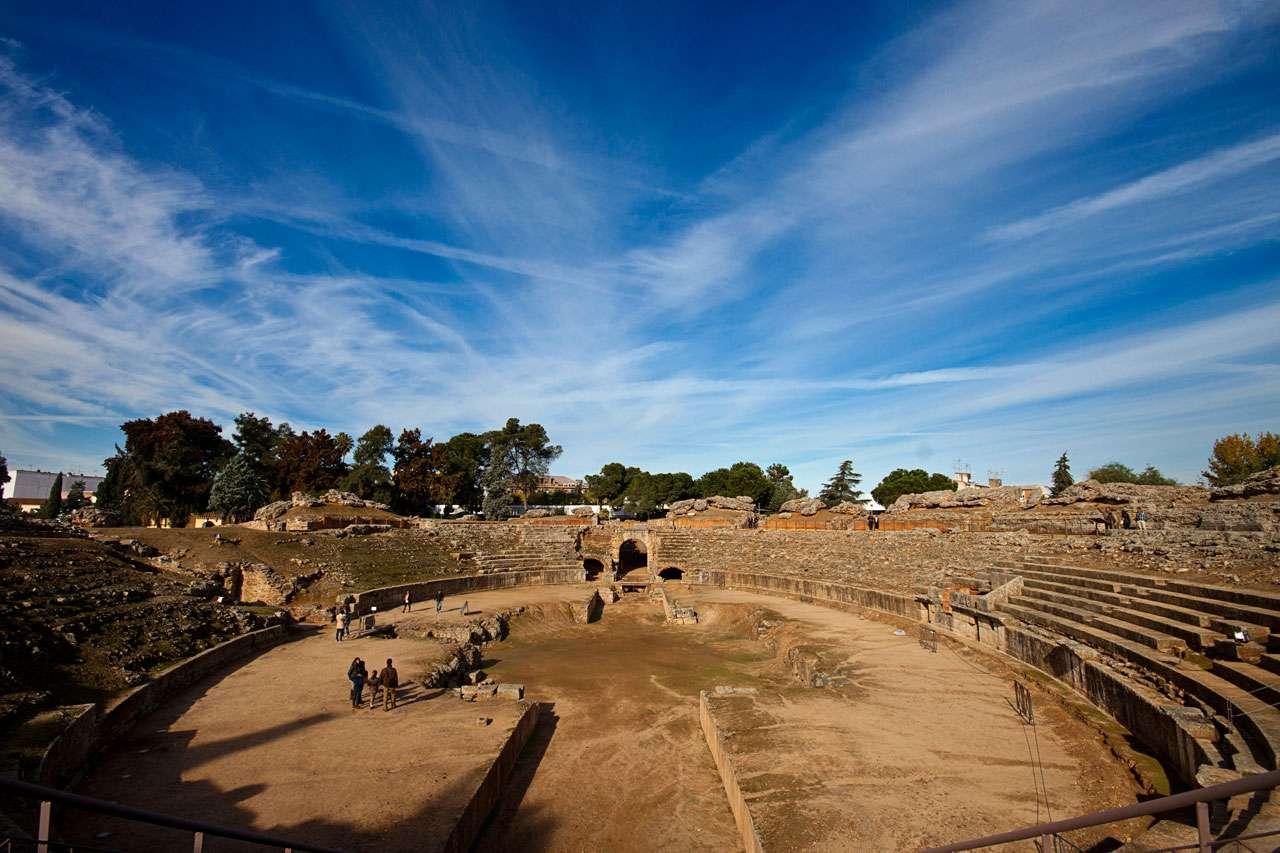 Ciudad romana de m rida for Centro de salud ciudad jardin badajoz