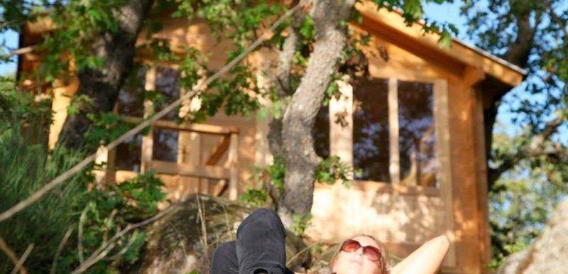 Cabañas en los árboles de extremadura 1