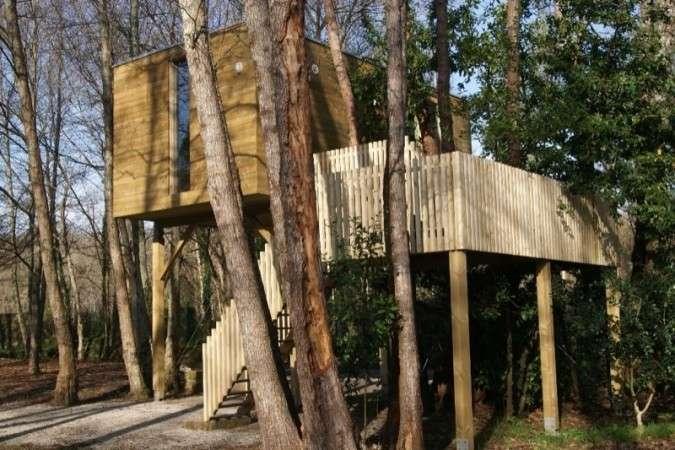 Glamping in spain holidays yurts tree houses - Cabanas en los arboles ...