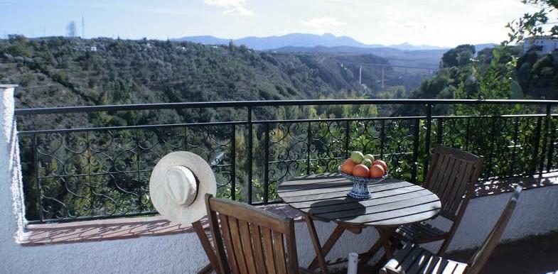 Preciosas vistas de Granada.