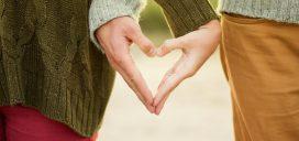 Romántico amor pareja