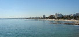 playa mar castellón comunidad valenciana sol cielo