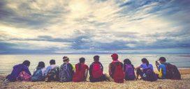 amigos vacaciones playa amistad bungalows