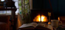 chimenea fuego calor descanso