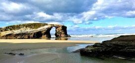 playa catedrales lugo galicia