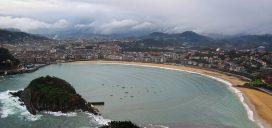 turismo ciudad pais vasco playa concha verano