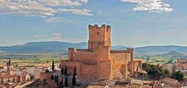 villena alicante castillo turismo